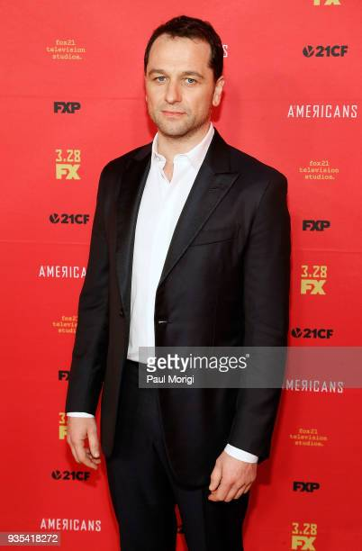 Actor Matthew Rhys attends the Washington DC Premiere of FX Networks' The Americans at The Newseum on March 20 2018 in Washington DC