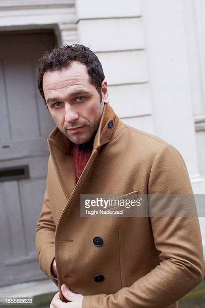 Actor Matthew Rhys is photographed for Red Magazine UK on July 14 2013 in London England