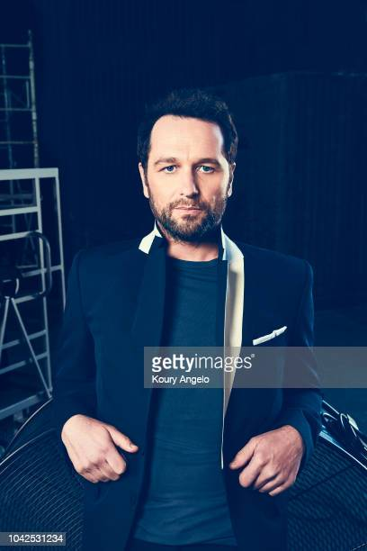 Actor Matthew Rhys is photographed for The Hollywood Reporter on April 28 2018 in Los Angeles California