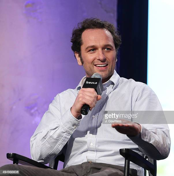 Actor Matthew Rhys speaks during the AOL BUILD Presents 'Burnt' at AOL Studios In New York on October 30 2015 in New York City