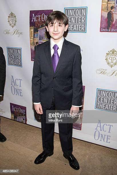 Actor Matthew Schechter attends the opening night party for Act One at The Plaza Hotel on April 17 2014 in New York City