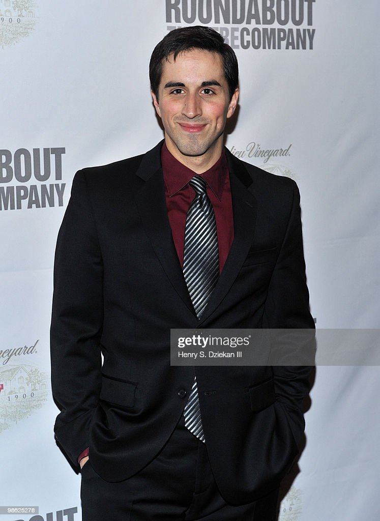 Actor Matthew Scott attends the opening night after party of 'Sondheim on Sondheim' at Studio 54 on April 22, 2010 in New York, New York.