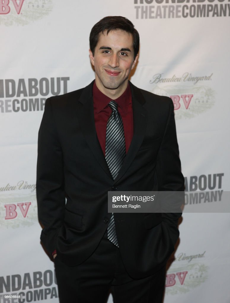 Actor Matthew Scott attends the opening of 'Sondheim on Sondheim' at the Studio 54 on April 22, 2010 in New York City.
