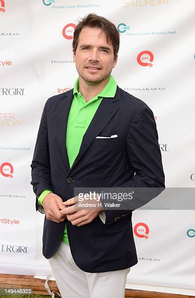 Actor Matthew Settle attends OCRF's 15th Annual Super Saturday hosted by Kelly Ripa COVERGIRL Paula Patton Donna Karan and InStyle at Nova's Ark...