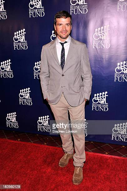 Actor Matthew Settle attends the 28th Annual Great Sports Legends Dinner to Benefit The Buoniconti Fund To Cure Paralysis at The Waldorf=Astoria on...