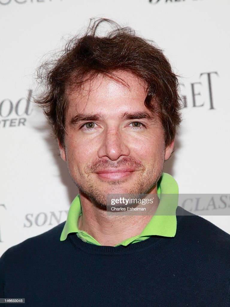 Actor Matthew Settle attends The Cinema Society with the Hollywood Reporter & Piaget and Disaronno screening of 'To Rome With Love' at The Paris Theatre on June 20, 2012 in New York City.