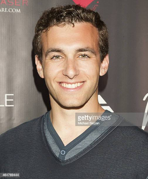 Actor Matthew Ziff attends Caroline Burt DJs At Victoria Fuller's The Beauty Code Art Show at The Redbury Hotel on February 25 2015 in Hollywood...