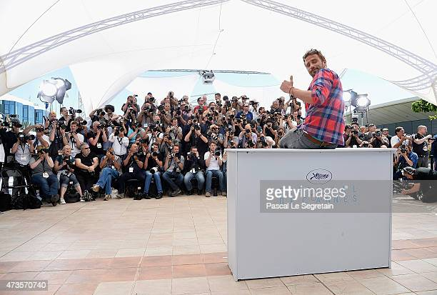 Actor Matthias Schoenaerts attends the Disorder photocall during the 68th annual Cannes Film Festival on May 16 2015 in Cannes France