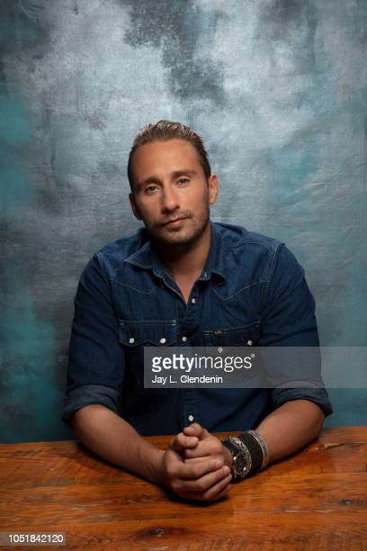 Actor Matthias Schoenaerts from 'Kursk' is photographed for Los Angeles Times on September 8 2018 in Toronto Ontario PUBLISHED IMAGE CREDIT MUST READ...