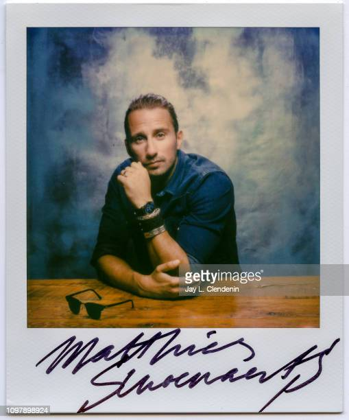 Actor Matthias Schoenaerts from 'Kursk' is photographed for Los Angeles Times on September 7 2018 in Toronto Ontario PUBLISHED IMAGE CREDIT MUST READ...