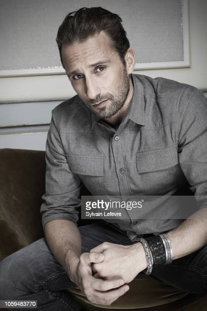 Actor Matthias Schoenaerts is photographed for Self Assignment on October 2018 in Ghent Belgium