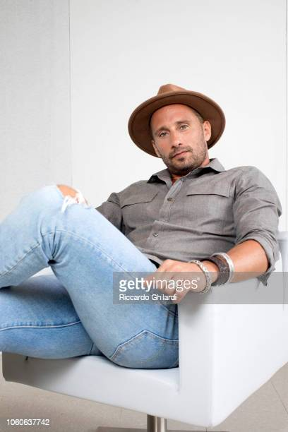 Actor Matthias Schoenaerts is photographed for Self Assignment on September 2018 in Venice Italy
