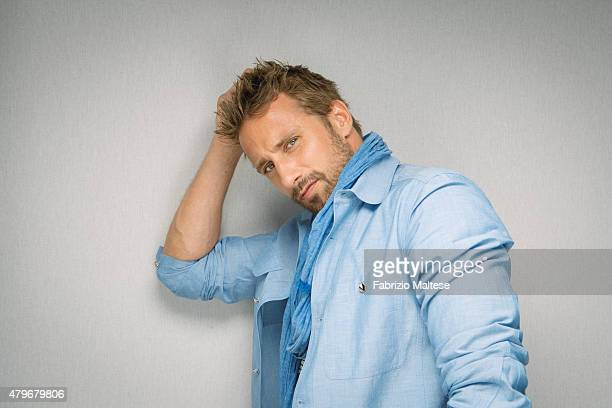 Actor Matthias Schoenaerts is photographed for The Hollywood Reporter on May 15 2015 in Cannes France