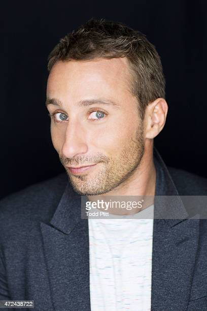 Actor Matthias Schoenaerts is photographed for USA Today on April 19 2015 in New York City