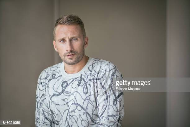 Actor Matthias Schoenaerts is photographed on September 7 2017 in Venice Italy