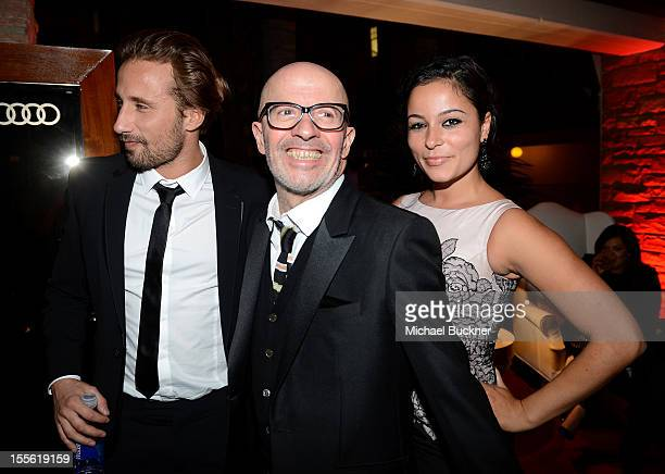 Actor Matthias Schoenaerts Writer/Director Jacques Audiard and Alexandra Schouteden attend the after party for the gala premiere of 'Rust and Bone'...