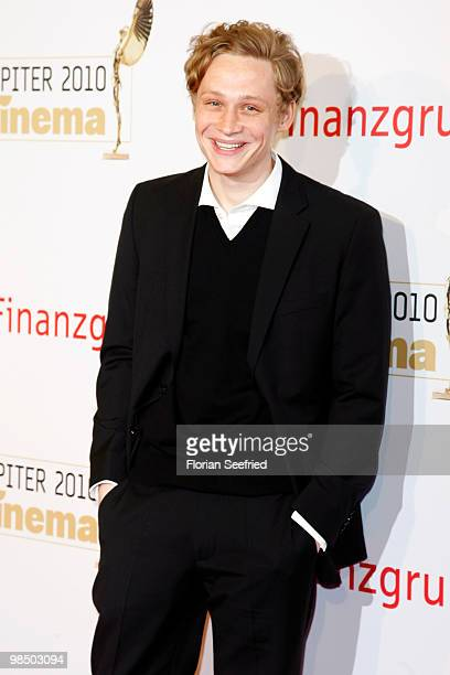 Actor Matthias Schweighoefer attends the 'Jupiter Award 2010' at Puro Sky Lounge on April 16 2010 in Berlin Germany