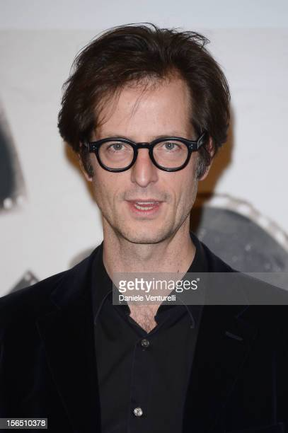 Actor Mattias Ripa attends the 'La Bande Des Jotas' Photocall during the 7th Rome Film Festival at the Auditorium Parco Della Musica on November 16...