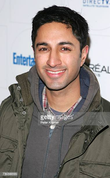 Actor Maulik Pancholy arrives at Entertainment Weekly's celebration of the 2007 Sundance Film Festival and the launch of Sixdegreesorg during the...