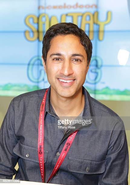 Actor Maulik Pancholy attends the Sanjay and Craig cast signing at the 2014 San Diego ComicCon International Day 5 on July 27 2014 in San Diego...