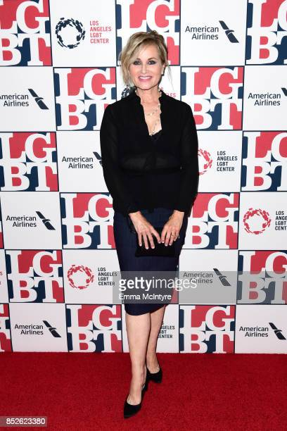 Actor Maureen McCormick attends Los Angeles LGBT Center's 48th Anniversary Gala Vanguard Awards at The Beverly Hilton Hotel on September 23 2017 in...