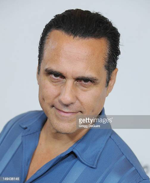 Actor Maurice Benard arrives at the 2012 Disney ABC Television TCA summer press tour party at The Beverly Hilton Hotel on July 27 2012 in Beverly...