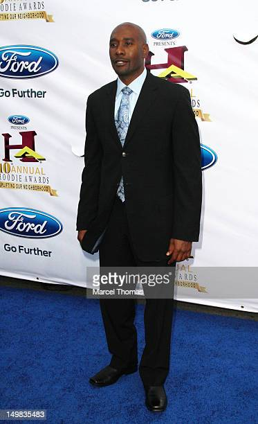 Actor Maurice Chestnut walks the blue carpet at the 10th Annual Ford Hoodie Awards at MGM Garden Arena on August 4, 2012 in Las Vegas, Nevada.
