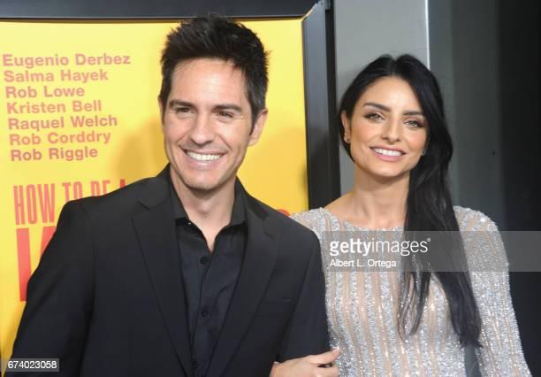 Actor Mauricio Ochmann and actress Aislinn Derbez arrives for the Premiere Of Pantelion Films' How To Be A Latin Lover held at ArcLight Cinemas...