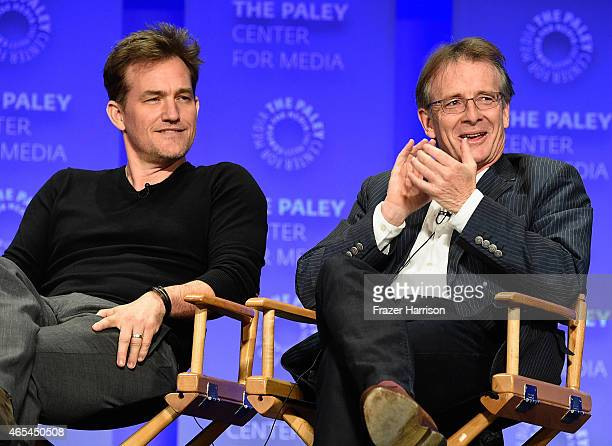 Actor Maury Sterling and CoExecutive Producer Patrick Harbinson on stage at The Paley Center For Media's 32nd Annual PALEYFEST LA Homeland at Dolby...