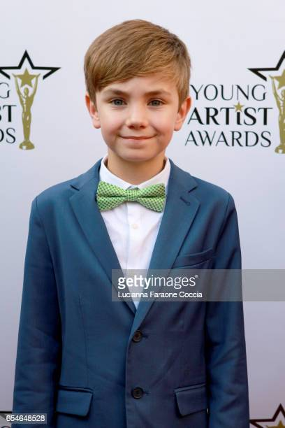 Actor Maverick Thompson attends the 38th Annual Young Artists Awards at Alex Theatre on March 17 2017 in Glendale California