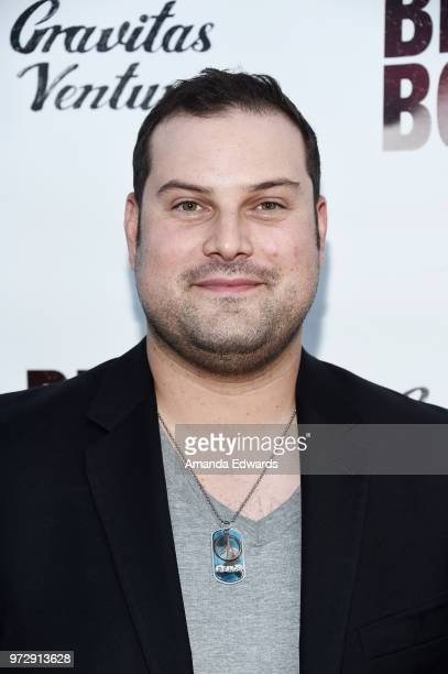 Actor Max Adler arrives at the Los Angeles premiere of 'Billy Boy' at the Laemmle Music Hall on June 12 2018 in Beverly Hills California