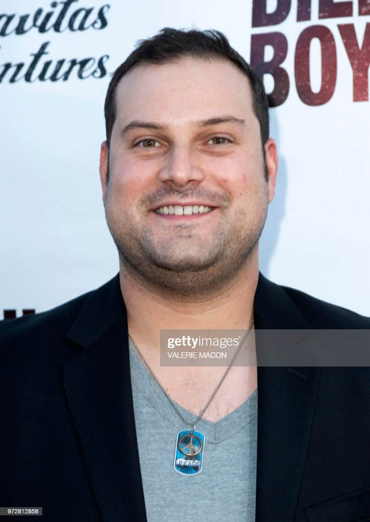 Actor Max Adler attends the Los Angeles Premiere of Billy Boy, at the Laemmle Music Hall on June 12, 2018, in Beverly Hills, California.