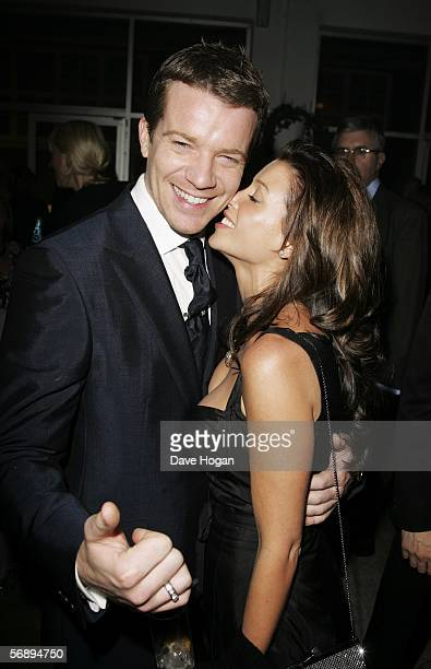 Actor Max Beesley and singer Dannii Minogue attend the after party following the ELLE Style Awards 2006 the fashion magazine's annual awards...
