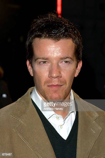 Actor Max Beesley arrives at the Top of the Pops Awards November 30 2001 at the Manchester Evening News arena in Manchester England