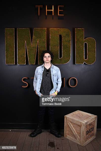 Actor Max Burkholder of 'When the Street Lights Go On' attends The IMDb Studio featuring the Filmmaker Discovery Lounge presented by Amazon Video...