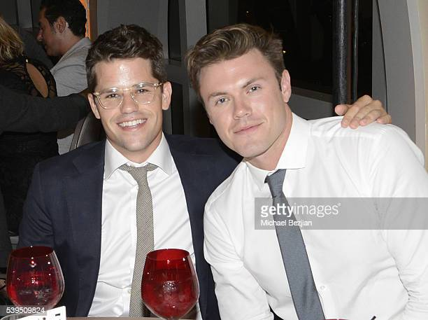 Actor Max Carver and Blake Cooper Griffin at the Walking With Anthony Movement for Change Gala at Sofitel Los Angeles at Beverly Hills on June 11...
