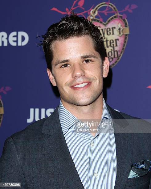 Actor Max Carver attends Just Jared's Homecoming Dance at the El Rey Theatre on November 20 2014 in Los Angeles California