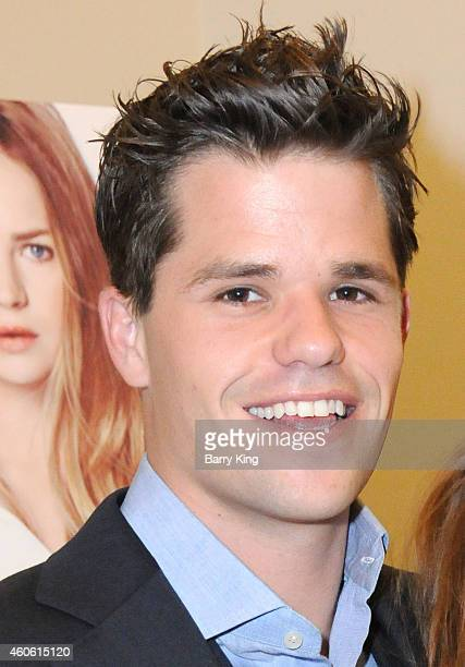 Actor Max Carver attends the Los Angeles Premiere of 'Ask Me Anything' at Clarity Theater on December 17 2014 in Beverly Hills California