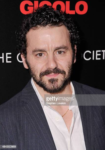 Actor Max Casella attends the Cinema Society Women's Health screening of Millennium Entertainment's 'Fading Gigolo' at SVA Theatre on April 11 2014...