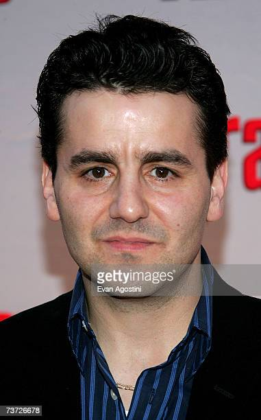 Actor Max Casella attends the HBO premiere of The Sopranos at Radio City Music Hall on March 27 2007 in New York City