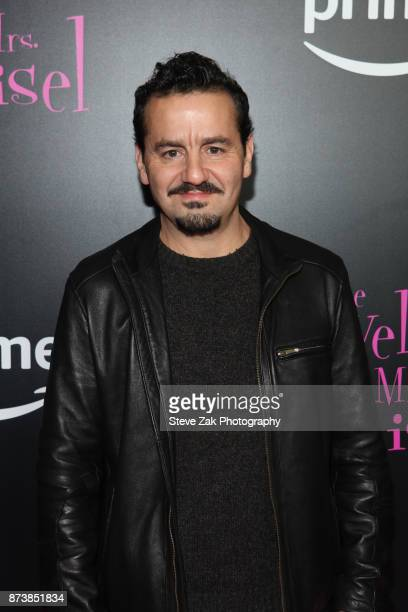 Actor Max Casella attends 'The Marvelous Mrs Maisel' New York Premiere at Village East Cinema on November 13 2017 in New York City