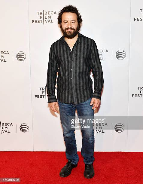 Actor Max Casella attends the premiere of 'Applesauce' during the 2015 Tribeca Film Festival at Regal Battery Park 11 on April 19 2015 in New York...