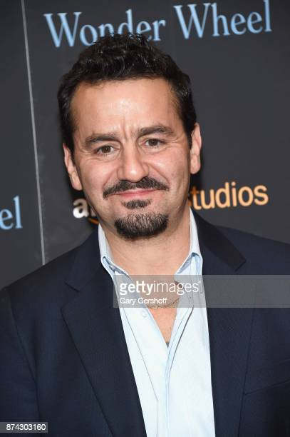 Actor Max Casella attends the 'Wonder Wheel' New York screening at the Museum of Modern Art on November 14 2017 in New York City