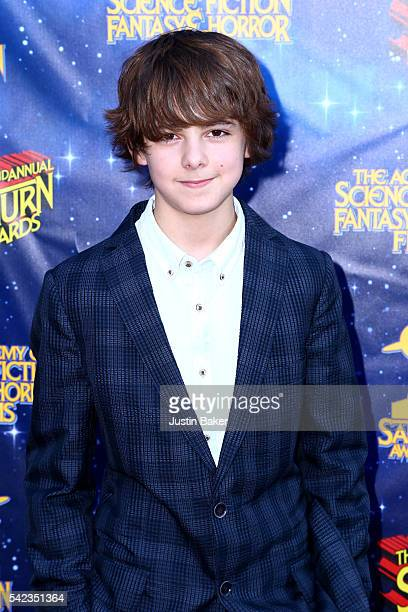 Actor Max Charles arrives for the 42nd Annual Saturn Awards at The Castaway on June 22 2016 in Burbank California
