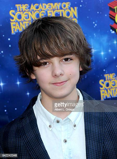 Actor Max Charles attends the 42nd annual Saturn Awards at The Castaway on June 22 2016 in Burbank California