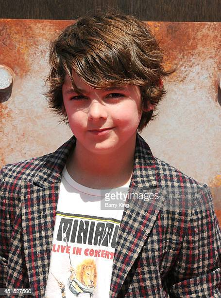 Actor Max Charles attends the premiere of 'How To Train Your Dragon 2' on June 8 2014 at Regency Village Theatre in Westwood California