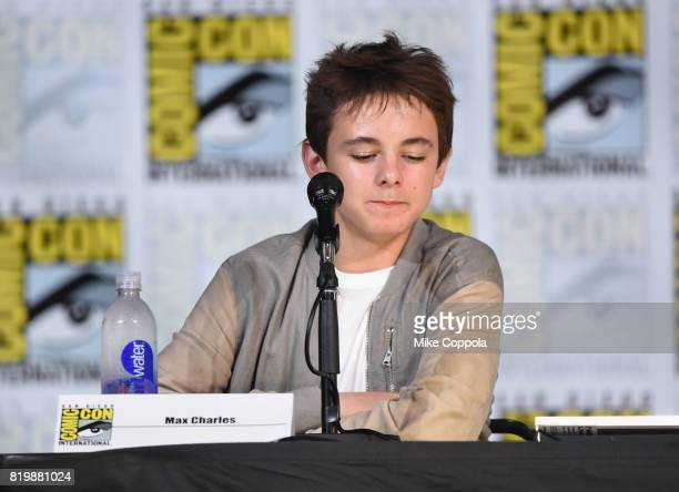"""Actor Max Charles speaks onstage at """"The Strain"""" screening and Q+A during Comic-Con International 2017 at San Diego Convention Center on July 20,..."""