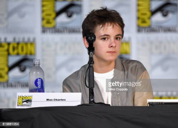 Actor Max Charles speaks onstage at 'The Strain' screening and QA during ComicCon International 2017 at San Diego Convention Center on July 20 2017...