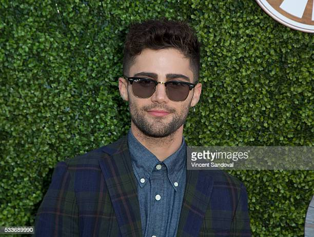 Actor Max Ehrich attends a screening of Hulu's The Path season finale at Hollywood Forever on May 22 2016 in Hollywood California