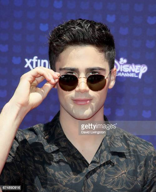 Actor Max Ehrich attends the 2017 Radio Disney Music Awards at Microsoft Theater on April 29 2017 in Los Angeles California